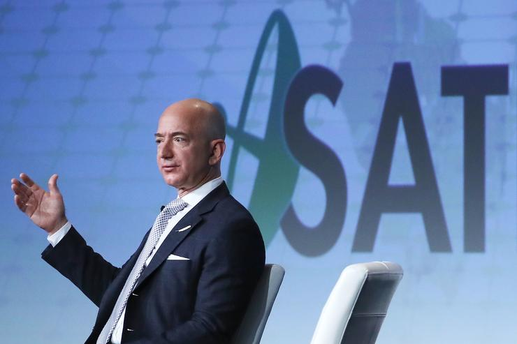 Amazon chief Jeff Bezos is richer than anyone has ever been