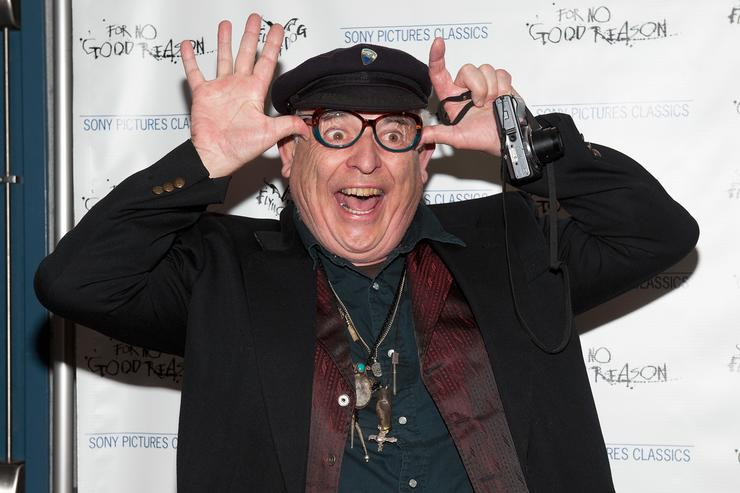 Ralph Steadman attends the 'For No Good Reason' screening at AMC Loews 19th Street Theater on April 22, 2014 in New York City.