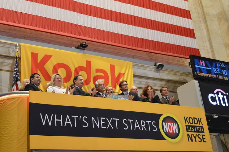 130-year-old Eastman Kodak joins cryptocurrency craze with 'KodakCoin'; shares surge