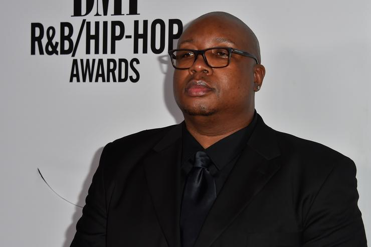 Recording artist E-40 attends the 2015 BMI R&B/Hip Hop Awards at Saban Theatre on August 28, 2015 in Beverly Hills, California.