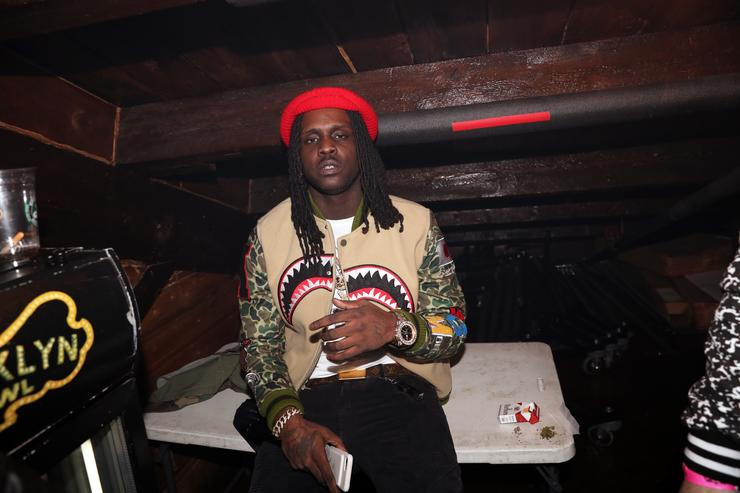 Chief Keef backstage at Brooklyn Bowl on December 5, 2016 in New York City.