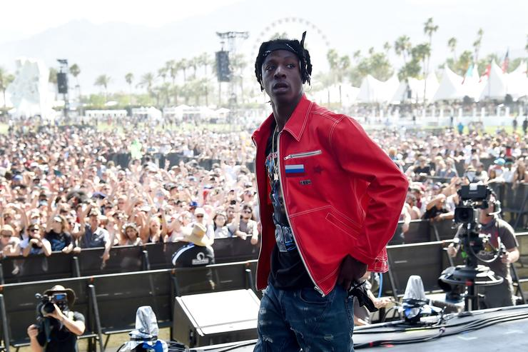 Recording artist Joey Bada$$ performs onstage during day 1 of the 2016 Coachella Valley Music & Arts Festival Weekend 1 at the Empire Polo Club on April 15, 2016 in Indio, California.