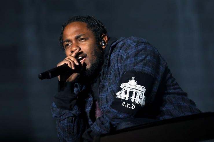 Recording artist Kendrick Lamar performs on the Samsung Stage during day two at Austin City Limits Music Festival 2016 at Zilker Park on October 1, 2016 in Austin, Texas.