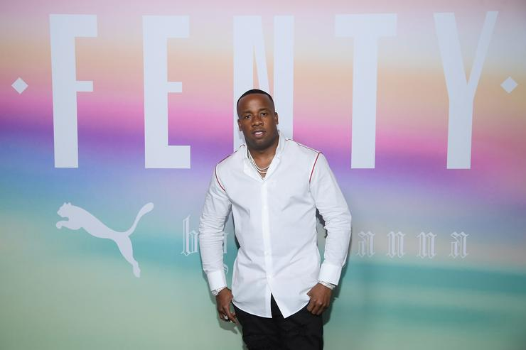 Yo Gotti attends the FENTY PUMA by Rihanna Spring/Summer 2018 Collection at Park Avenue Armory on September 10, 2017 in New York City.