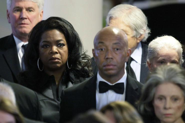 Russell Simmons Removed From Oprah Winfrey's Spirituality Book