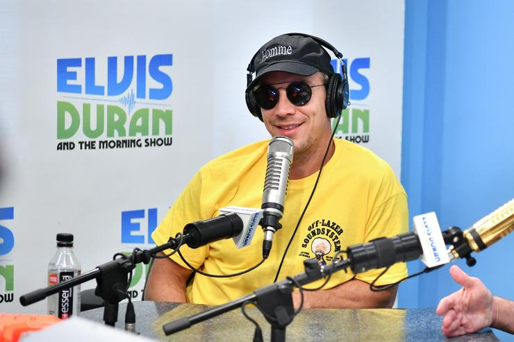 Diplo visits 'The Elvis Duran Z100 Morning Show' at Z100 Studio on August 22, 2017 in New York City
