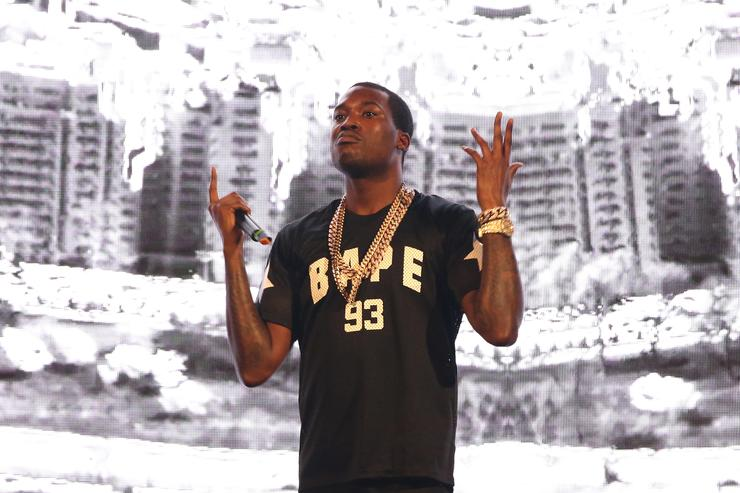 Tee Grizzley Grabs Meek Mill For