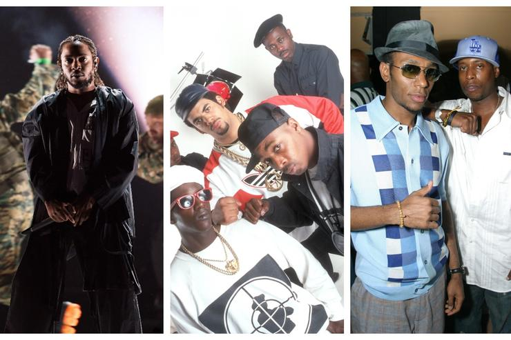 Kendrick Lamar, Public Enemy and Black Star