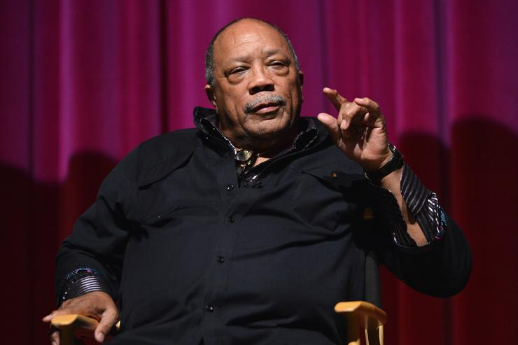 Composer Quincy Jones attends a special screening of A&E Entertainment's 'Under African Skies' on June 8, 2012 in Los Angeles, California