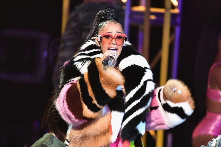 Cardi B almost mauled by cheetah while shooting music video