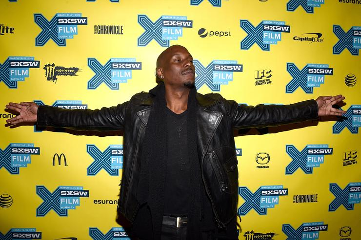 Actor Tyrese Gibson attends the screening of 'Furious 7' during the SXSW Music, Film + Interactive Festival at the Paramount on March 15, 2015 in Austin, Texas.