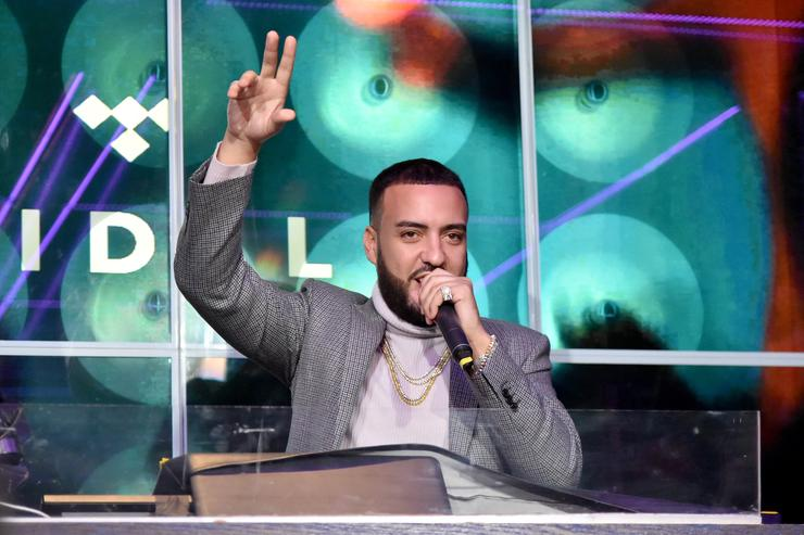 French Montana co-hosts a pre-GRAMMY celebration