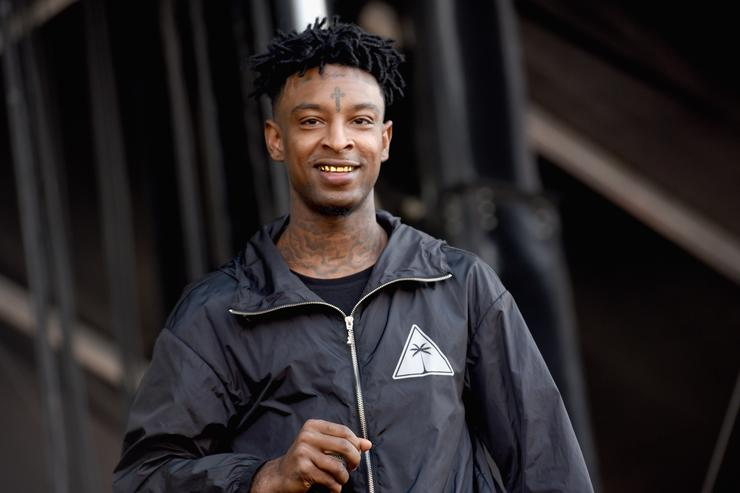 21 Savage performing at The Meadows festival