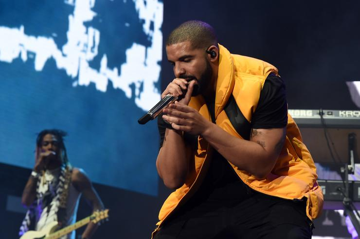 Drake performs on the Coachella Stage during day 2 of the Coachella Valley Music And Arts Festival