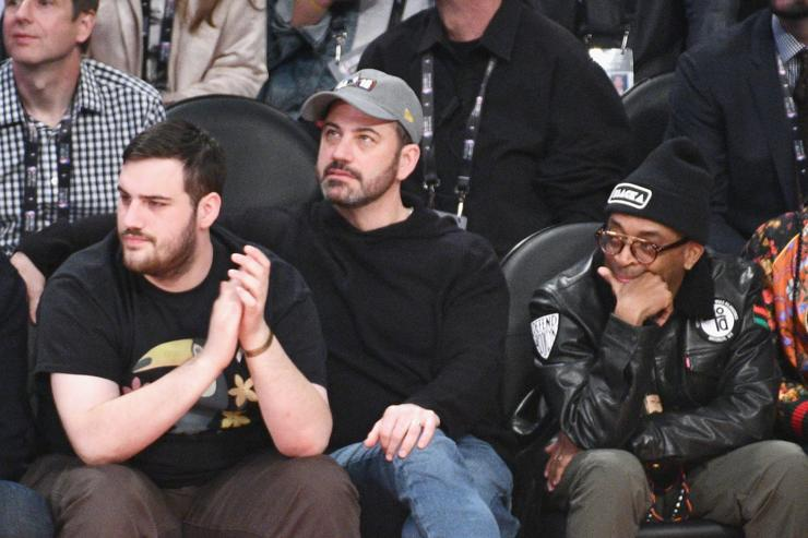 Jimmy Kimmel Courtside