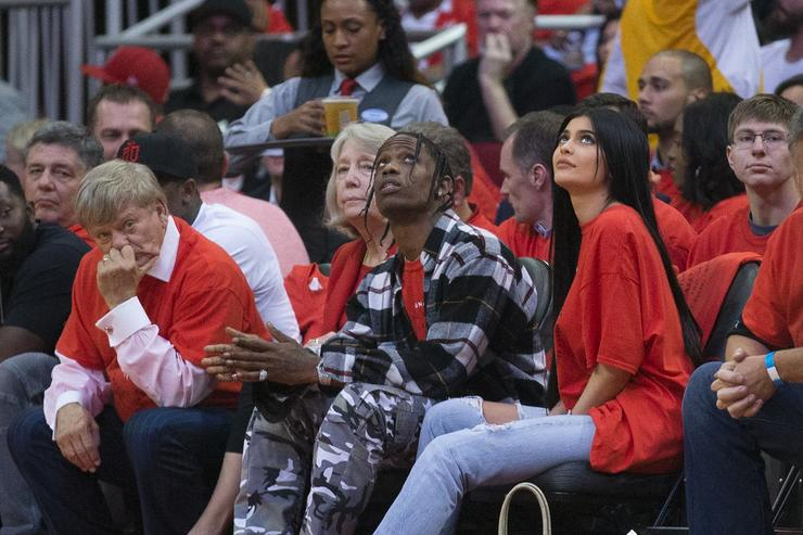 Kylie and Travis NBA