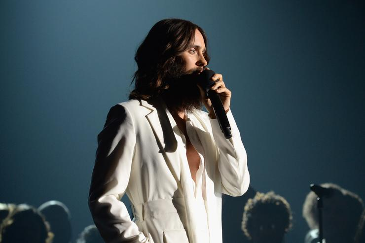 Jared Leto at the MusiCares Person of the Year