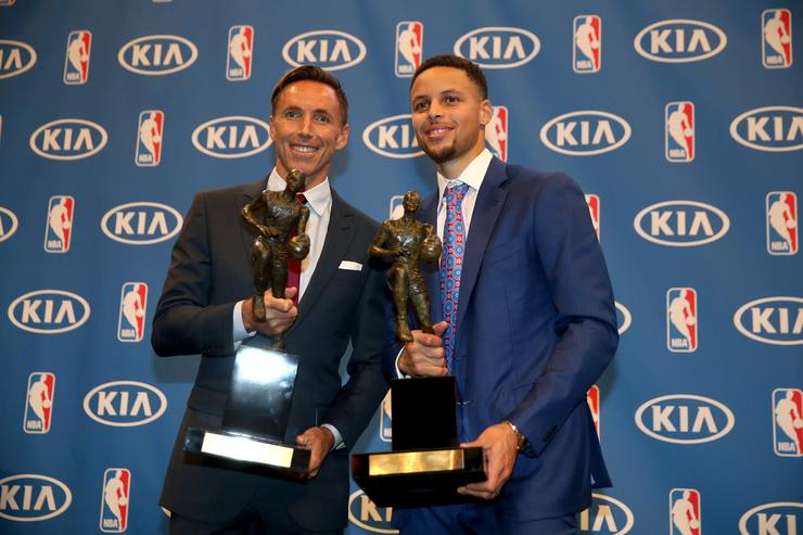 Steve Nash and Steph Curry