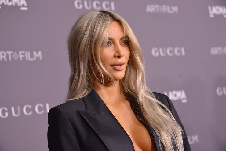 Kim Kardashian West at the 2017 LACMA Art + Film Gala