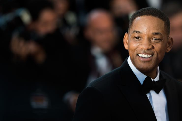 Actor Will Smith at Ismael's Ghosts screening