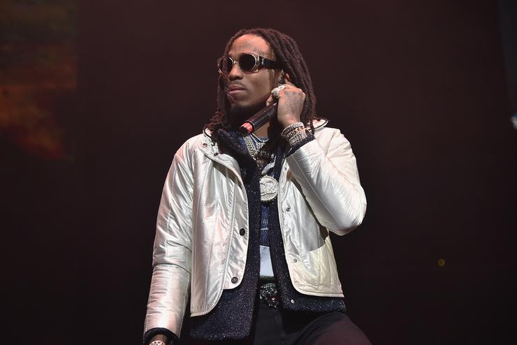 Quavo of Migos performs onstage during 105.1's Powerhouse 2017 at the Barclays Center on October 26, 2017 in the Brooklyn, New York City City.