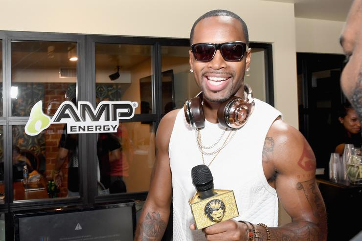 Safaree Samuels attends Next Level Presented By AMP Energy, A Hip Hop Gaming Tournament at Rostrum Records on June 23, 2016 in Los Angeles, California