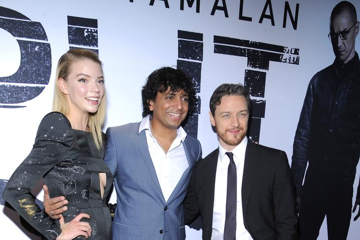"M. Night Shyamalan at the ""Split"" premiere"