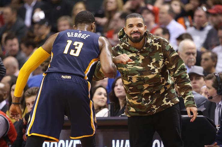 Drake and Paul George