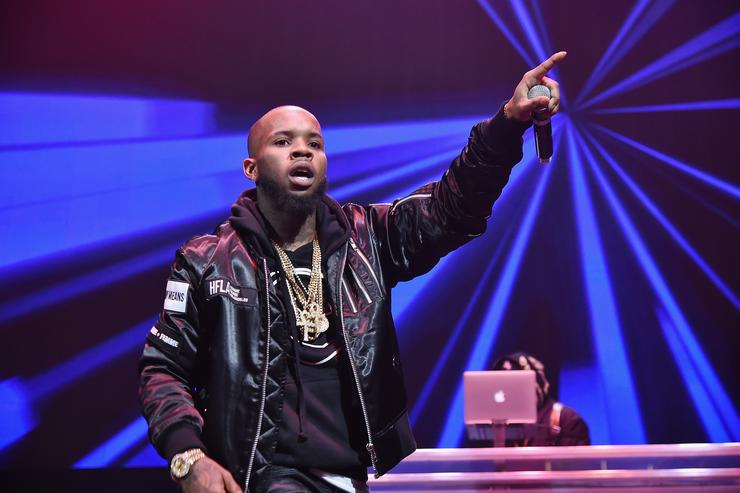 Hip hop artist Tory Lanez performs onstage during Power 105.1's Powerhouse 2016 at Barclays Center on October 27, 2016 in New York City.