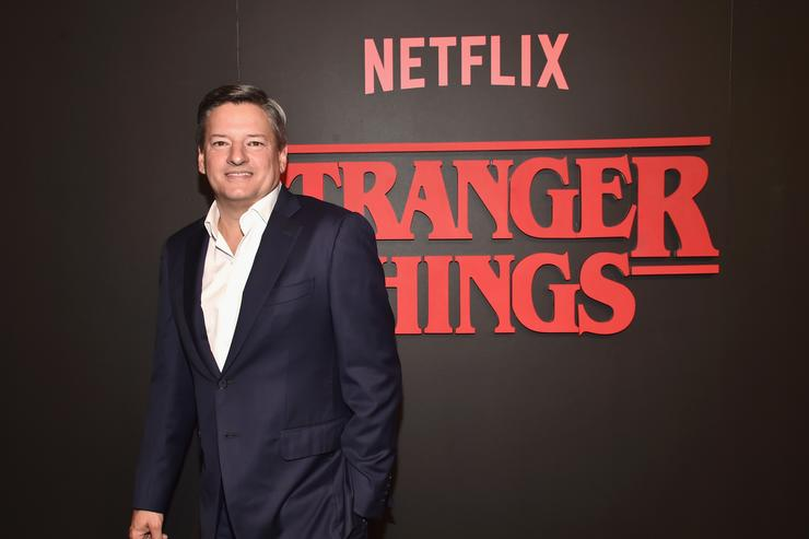 "Chief Content Officer for Netflix at the Premiere of ""Stranger Things"""