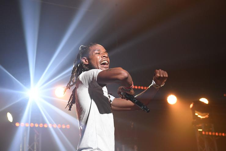 Rapper Fetty Wap performs on stage at Gucci and Friends Homecoming Concert at Fox Theatre on July 22, 2016 in Atlanta, Georgia.