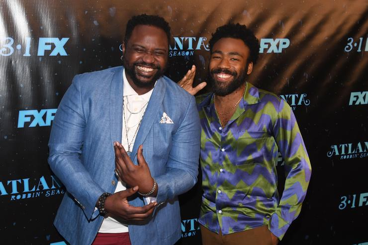 Donald Glover and Brian Tyree Henry of Atlanta