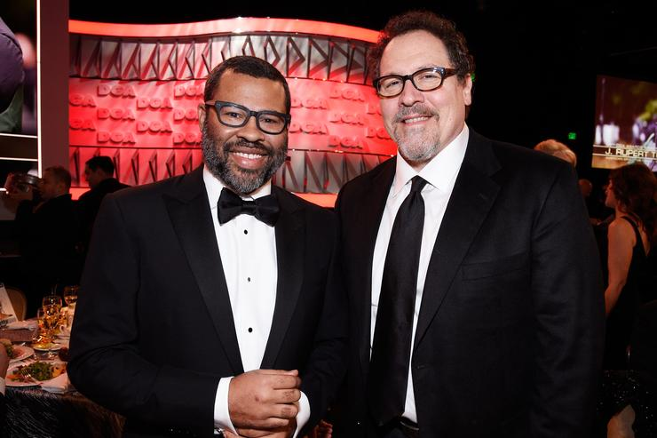 Jon Favreau and Jordan Peele