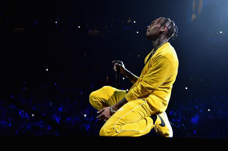 Chris Brown performs onstage during TIDAL X: Brooklyn at Barclays Center of Brooklyn on October 17, 2017 in New York City