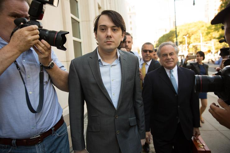 It's 7 years in prison for Martin Shkreli, convicted of fraud