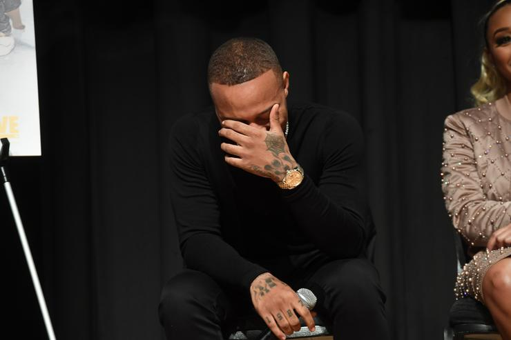 Bow Wow Covering Face