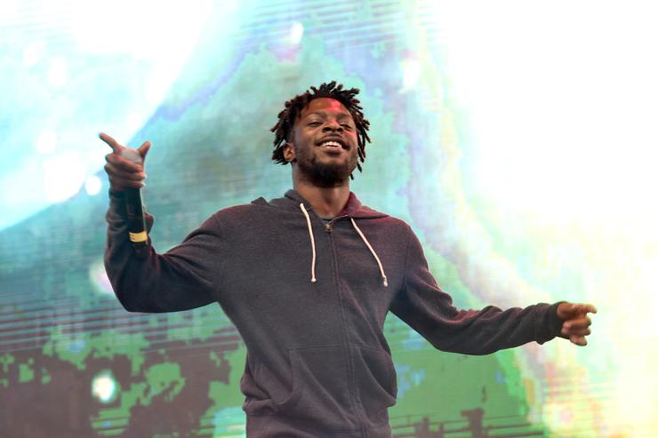 Isaiah Rashad performs with TOKiMONSTA on Camp Stage during day one of Tyler, the Creator's 5th Annual Camp Flog Gnaw Carnival at Exposition Park on November 12, 2016 in Los Angeles, California.
