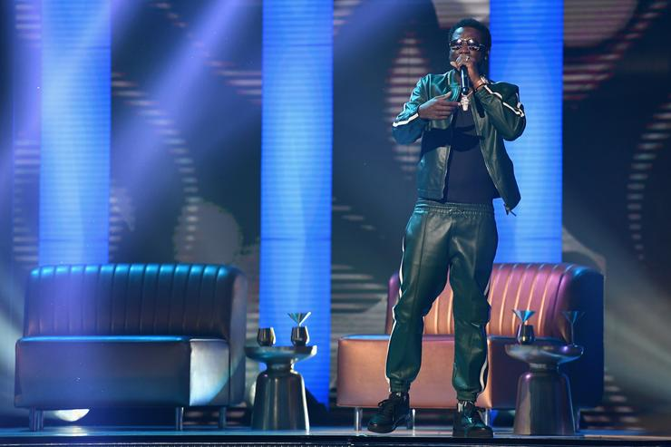 Gucci Mane performs onstage at 2017 BET Awards at Microsoft Theater on June 25, 2017 in Los Angeles, California