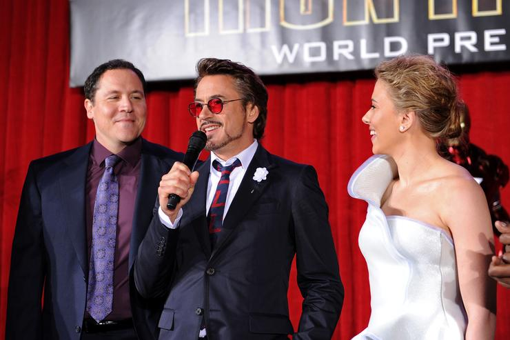 Robert Downey Jr. at the world premiere of Iron Man 2