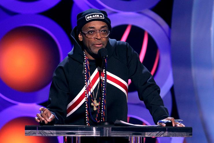 Spike Lee at he 2018 Film Independent Spirit Awards