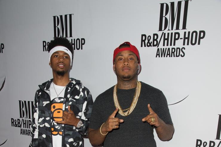 Rappers Metro Boomin and Southside attend the 2015 BMI R&B/Hip-Hop Awards Show at Saban Theatre on August 28, 2015 in Beverly Hills, California.
