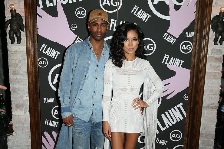 Big Sean and Jhen Aiko attend the Flaunt Magazine and AG celebration of 'Foreplay,' a preview of The Good Times Issue Featuring Cage The Elephant, Hosted By Jhen Aiko and Big Sean of Twenty88 on April 14, 2016 in Los Angeles, California