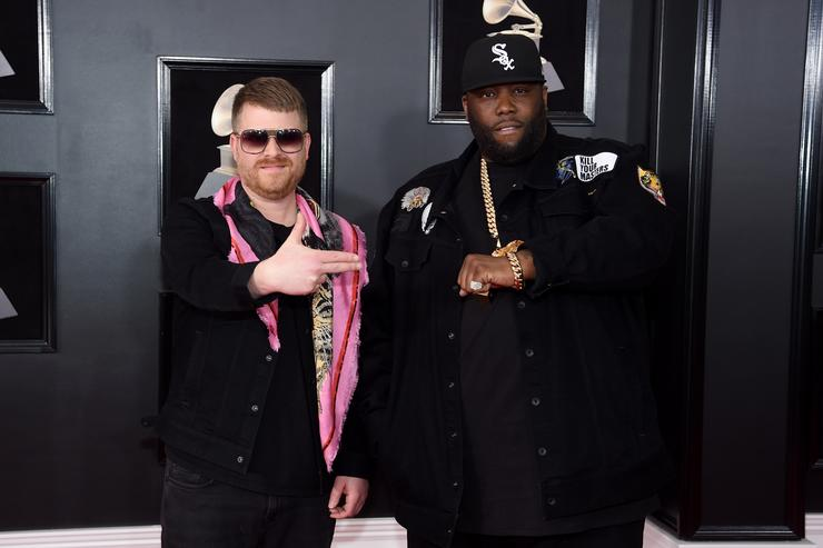 Run the Jewels at the Grammys