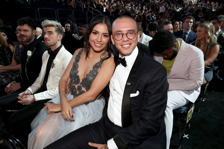Rapper Logic and his wife split