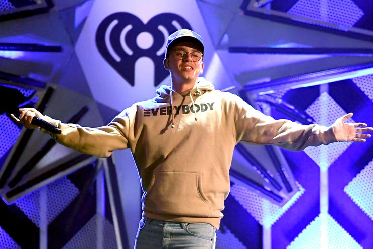 Logic performs onstage during 102.7 KIIS FM's Jingle Ball 2017 presented by Capital One at The Forum on December 1, 2017 in Inglewood, California