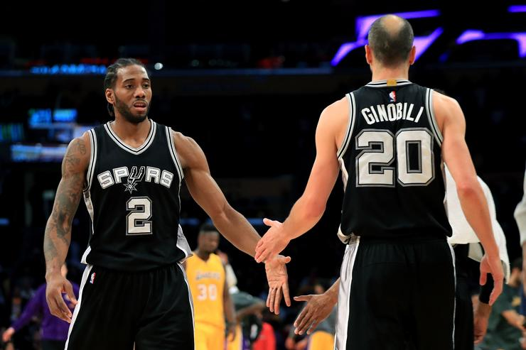 Manu Ginobili Says San Antonio Spurs Don't Expect Kawhi Leonard To Return