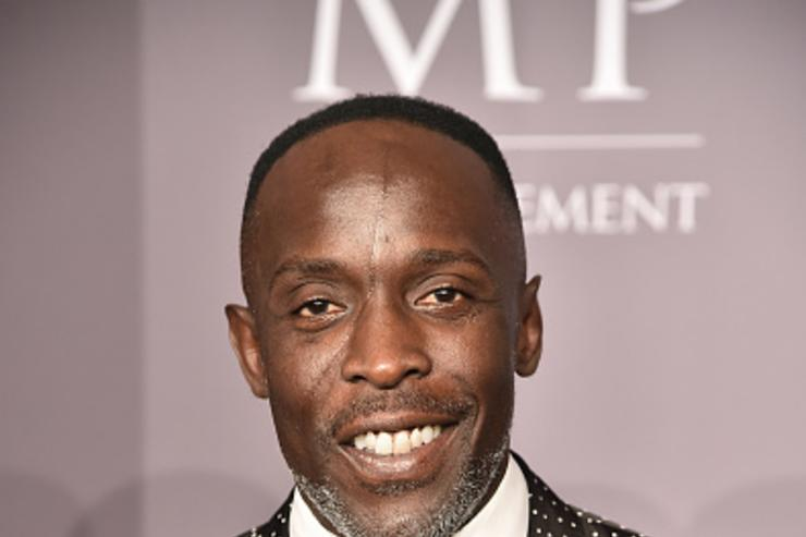 Actor Michael K Williams attends the 2018 amfAR Gala New York at Cipriani Wall Street on February 7, 2018 in New York City.