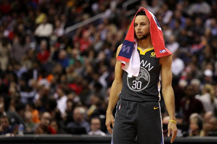 Curry (ankle) set to return tonight vs. Hawks