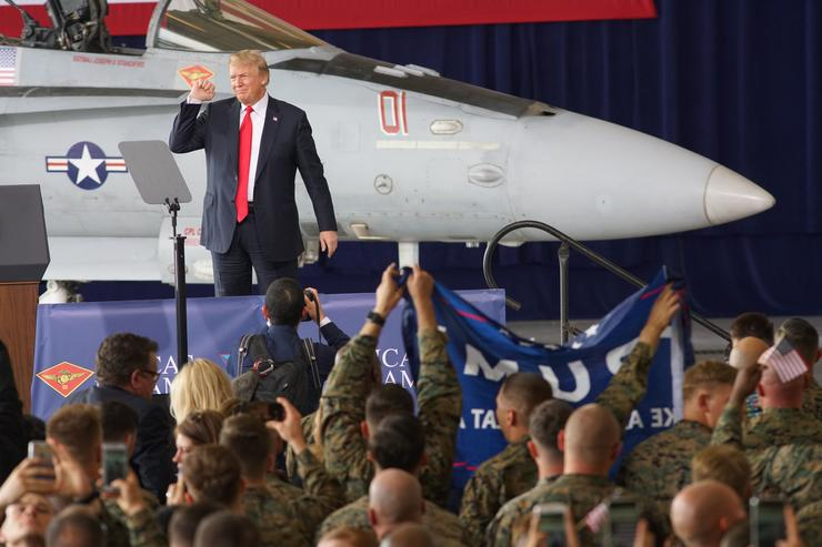Donald Trump Armed Forces