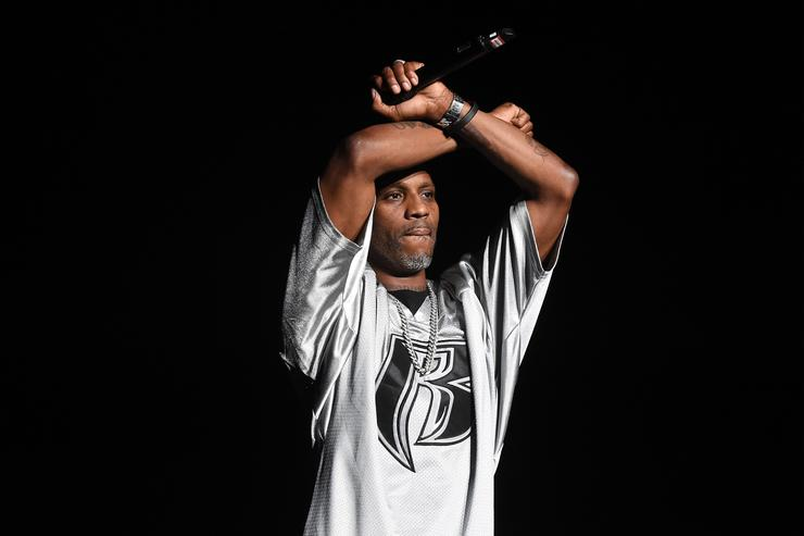 DMX performs onstage during the Bad Boy Family Reunion Tour at The Forum on October 4, 2016 in Inglewood, California.